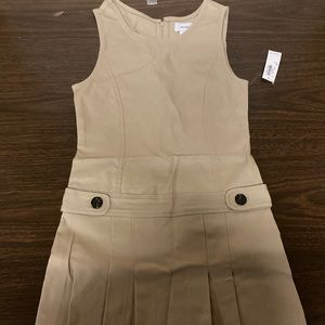 Girls uniform dress new with tags